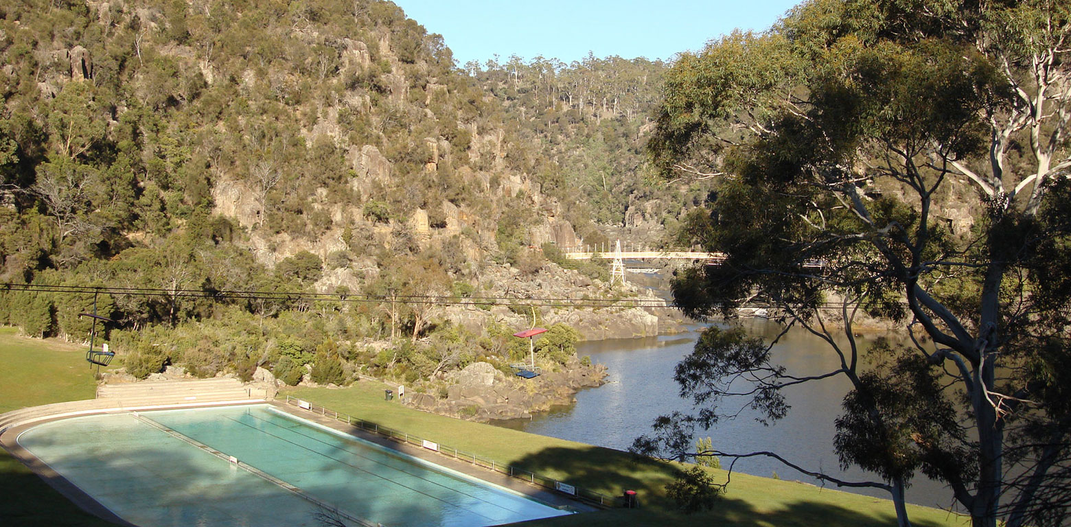 The Cataract Gorge Basin Chairlift